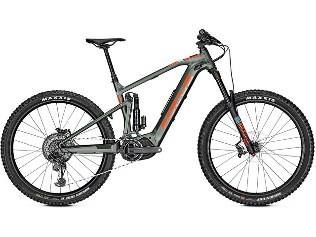 FOCUS Sam² 6.9 E-MTB fullsuspension grå (2019) | Mountainbikes